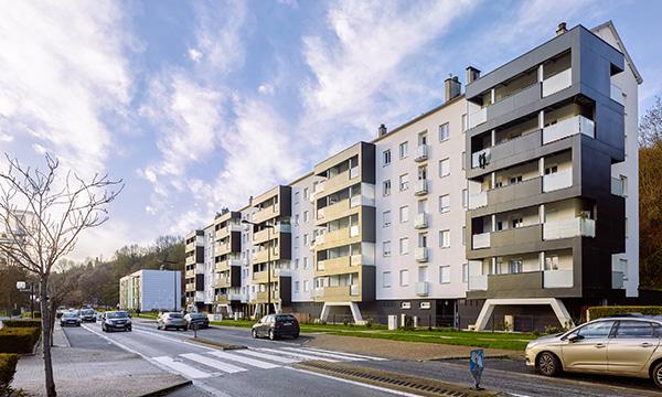 47 logements et bureaux à BARENTIN