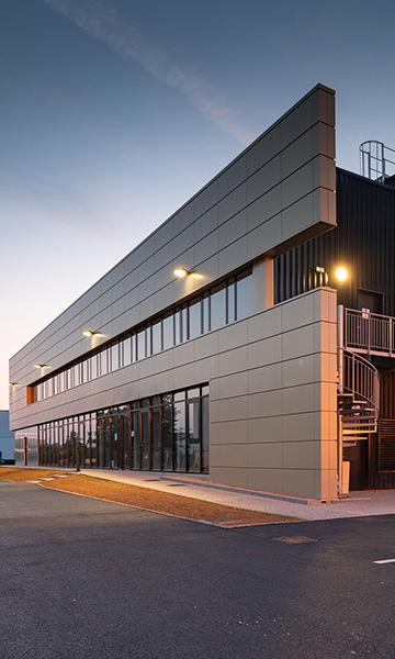 Bâtiment de messagerie et bureaux à SAINT-ÉTIENNE DU ROUVRAY