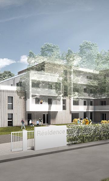 30 logements BBC à BOIS GUILLAUME