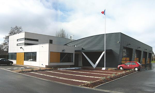 Centre d'Incendie et de Secours à EZY-SUR-EURE