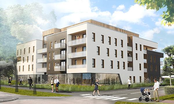 37 logements et 2 locaux d'activités à MONT-SAINT-AIGNAN