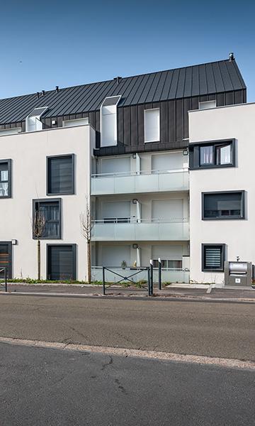 39 logements et 1 commerce à PETIT-COURONNE