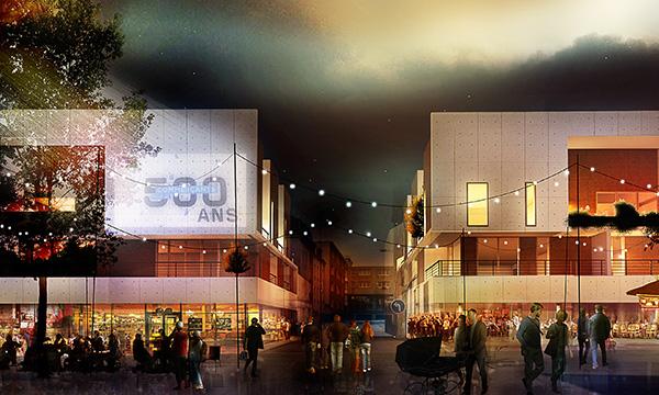 Îlot Haudry – Construction de 48 logements et commerces au HAVRE
