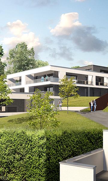 18 logements collectifs et 1 maison à MONT SAINT AIGNAN