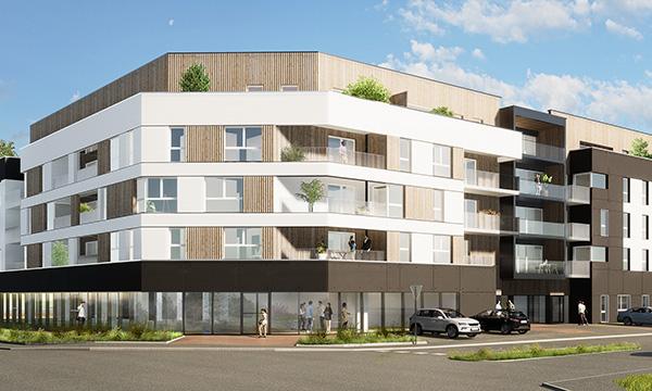 55 logements et locaux d'activités à BIHOREL